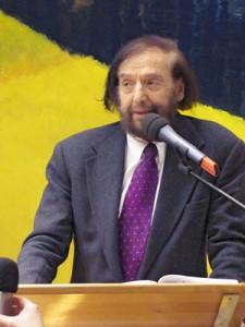 """Vortrag zum Thema """"Neue Arbeit - Neue Wirtschaft"""" von Prof. Frithjof Bergmann  am 5.11.2012 in der Schweisfurthstiftung, München."""