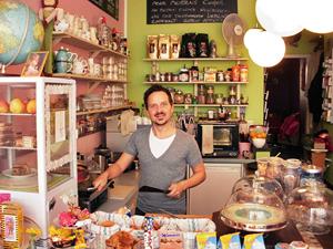 Franz Wieshammer, einer der drei Betreiber des Café Liebling