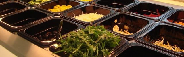 Salattheke bei CitySalad
